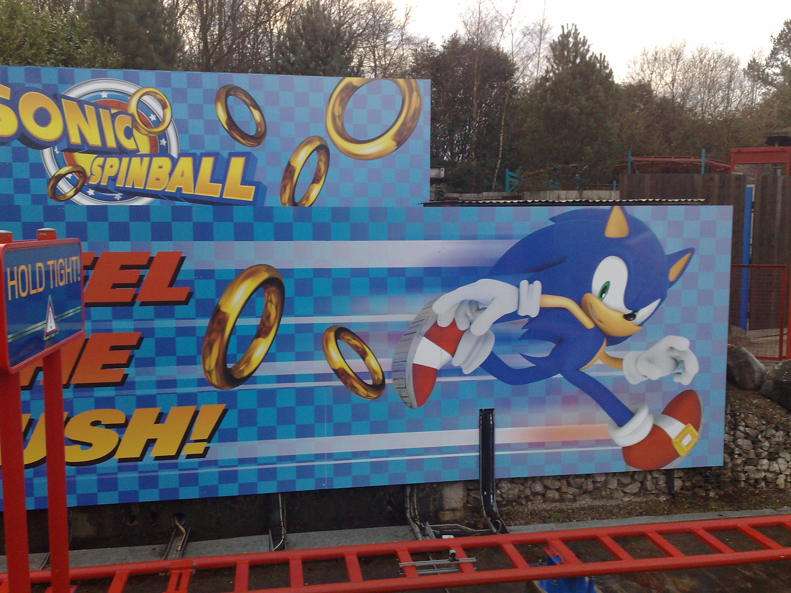 Photos. The Sonic Spinball   Sonic Room   ASR Sega Trip 2010   Sonic Retro
