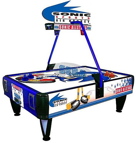 Sonic Air Hockey table