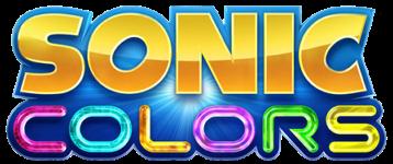 Sonic Colors Title