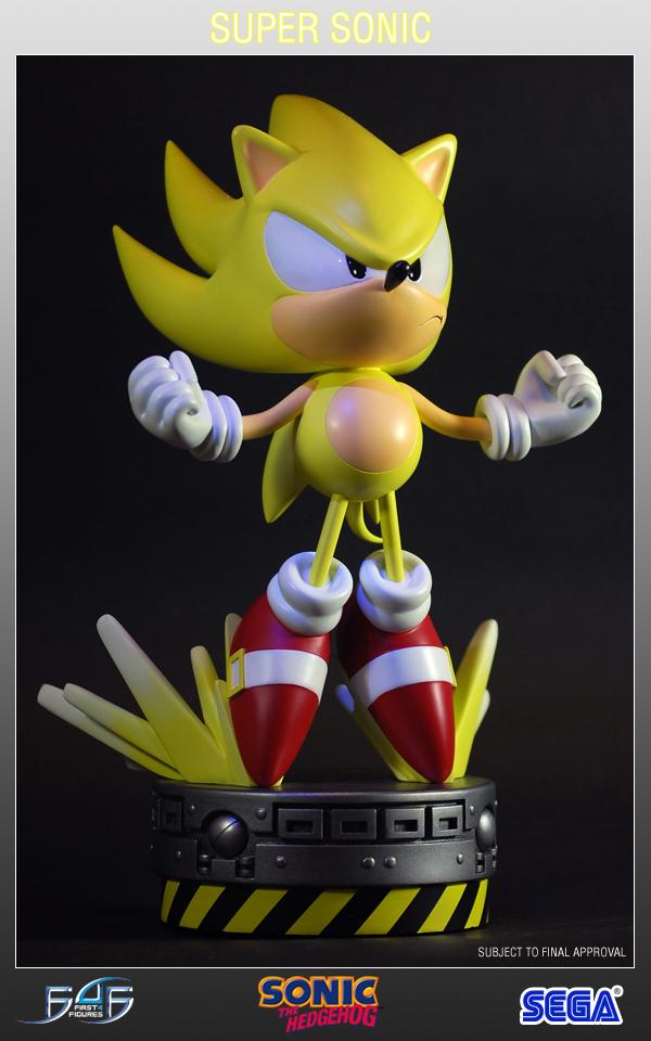 Super Sonic Statue 1