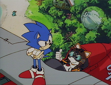 Sonic OVA - Sonic and Tails
