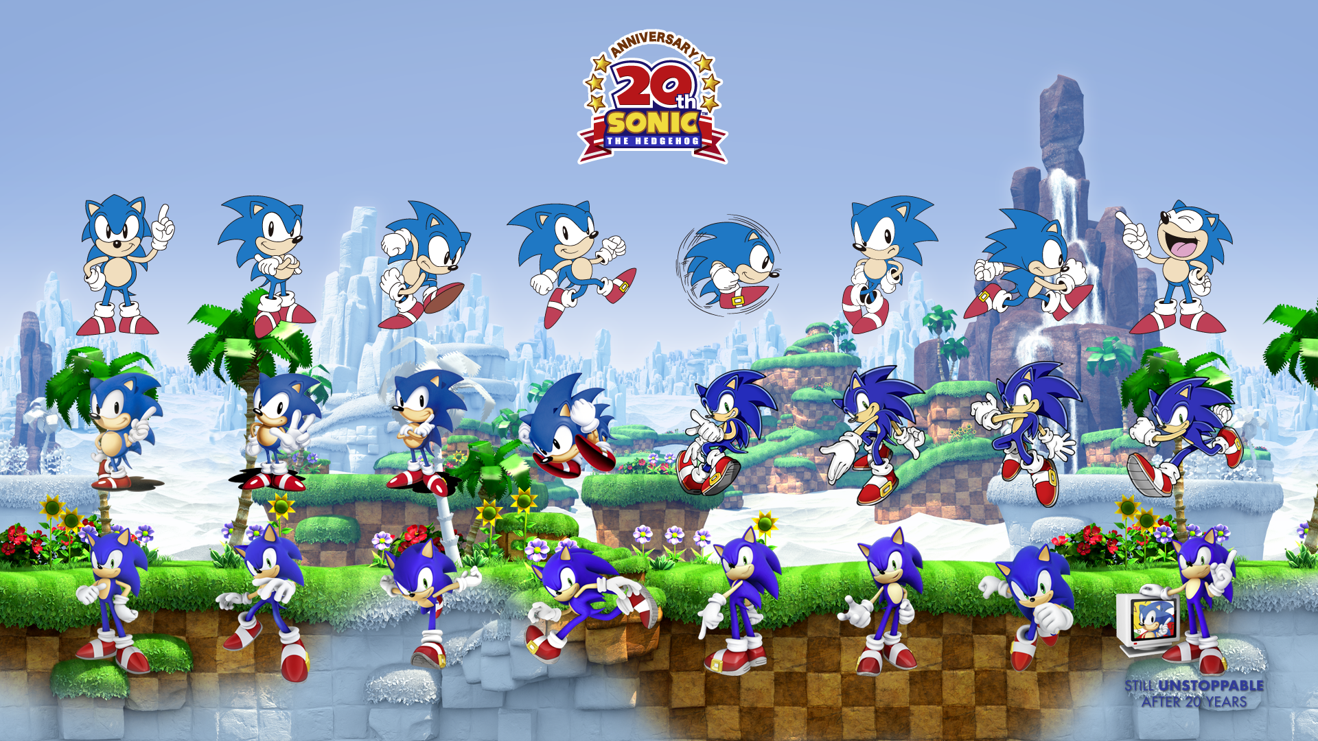 New Sonic Generations Wallpaper Released – Sonic Retro