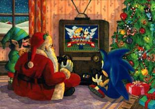 Sonic the Hedgehog Christmas Extravaganza Archives - Sonic Retro