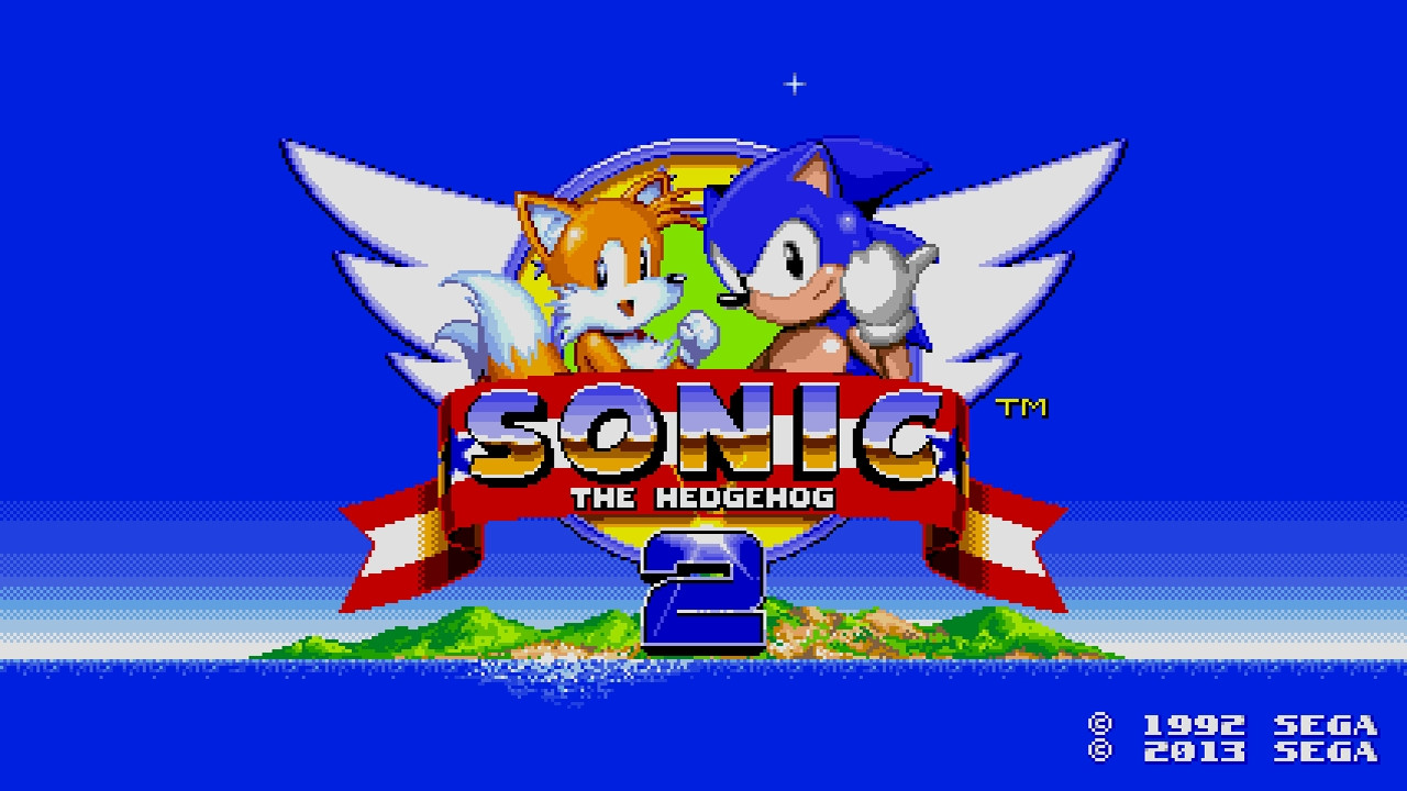 Sonic 2 2013 Title