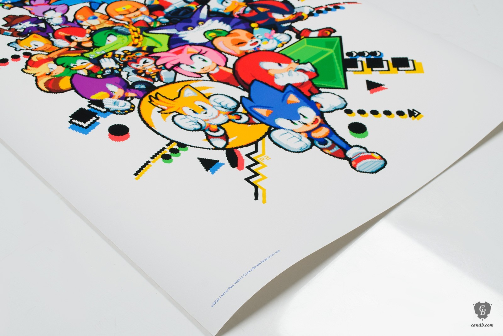 Ray And Mighty Finally Found On New Official Sonic Art