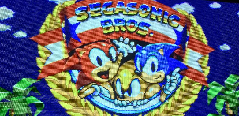 segasonic bros title thumbnail