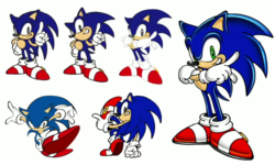 Adventure Sonic concept art