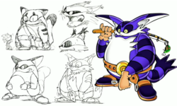 Big the Cat concept art