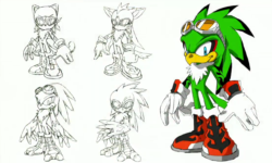 Jet the Hawk concept art