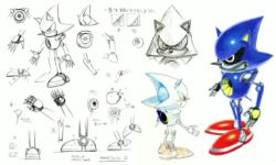 Metal Sonic concept art