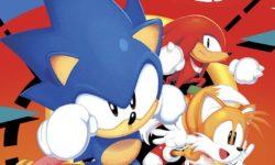 Sonic Mega Drive cover