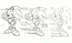 Sonic X concept art