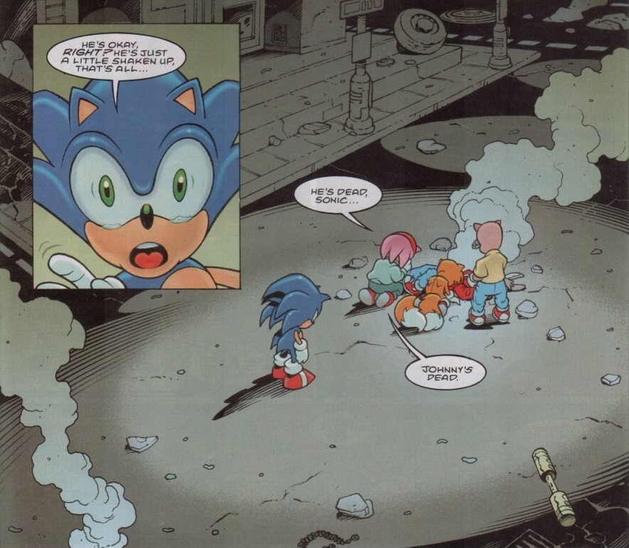 How Fleetway Played The Games, Part 9: Of Chaos And Chaos