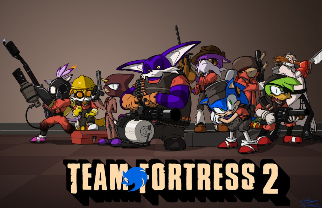 Sonic Team Fortress 2 by Toughset