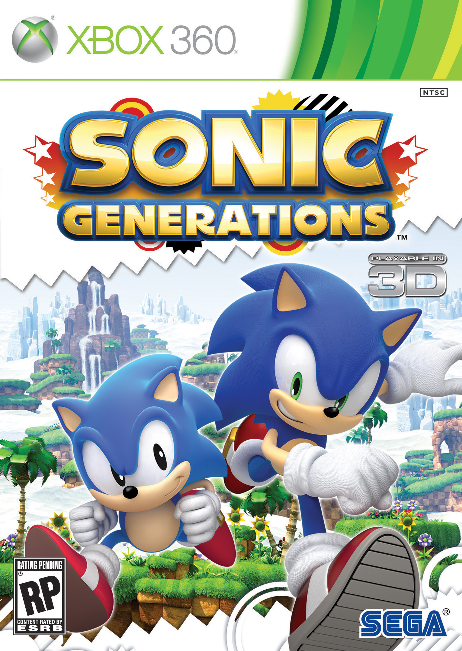 Sonic Generations Update 1 Eng THETA Patch.