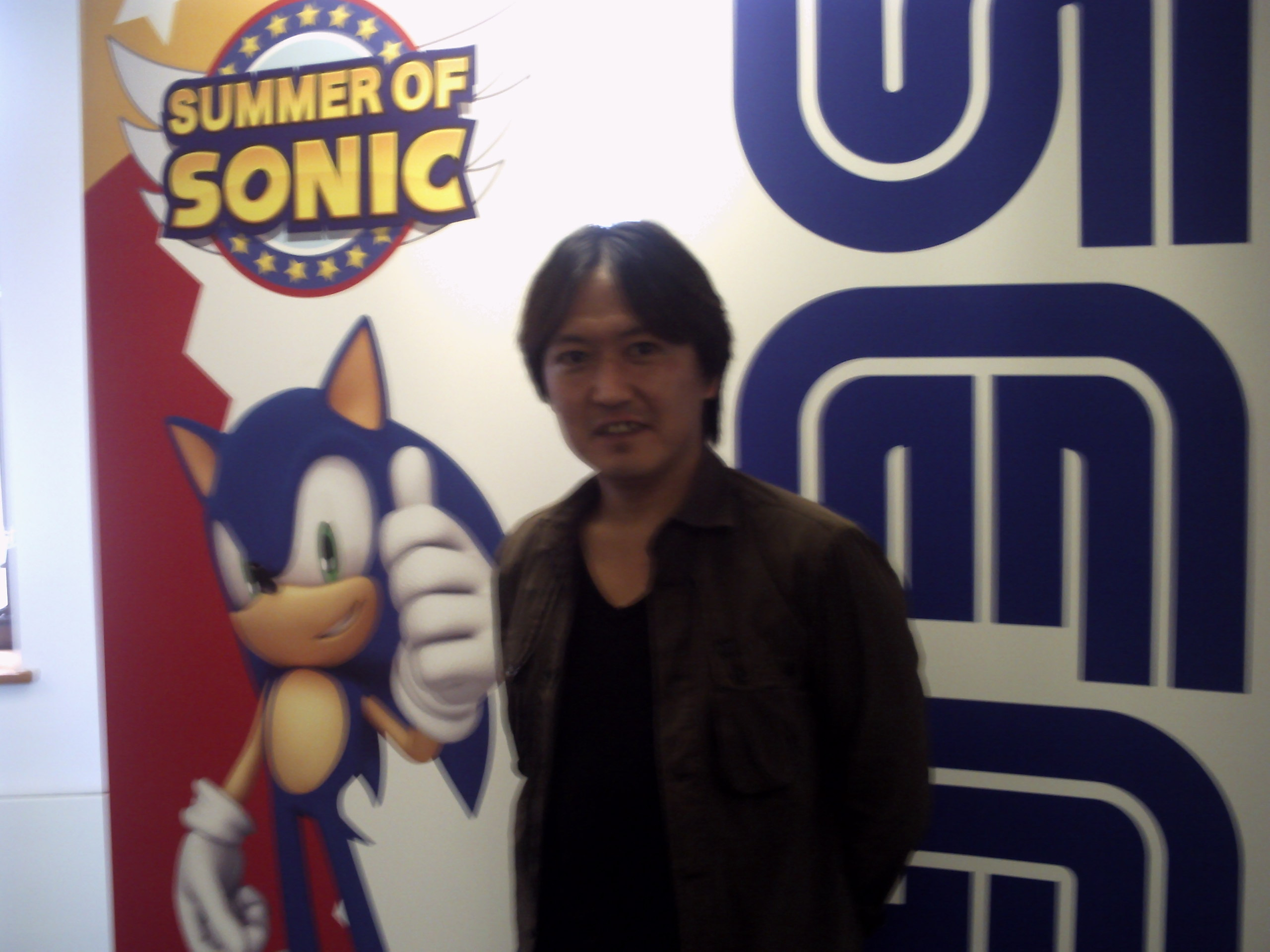 Takashi Iizuka at Summer of Sonic 2012