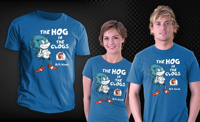 Hog in the Clogs Teefury