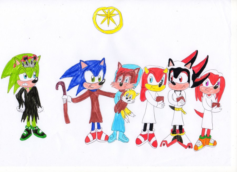 Presented Without Commentary Christian Sonic Fanart Sonic Retro