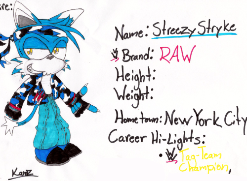 WWE__Streezy_Stryke_by_RageTheHedgehog