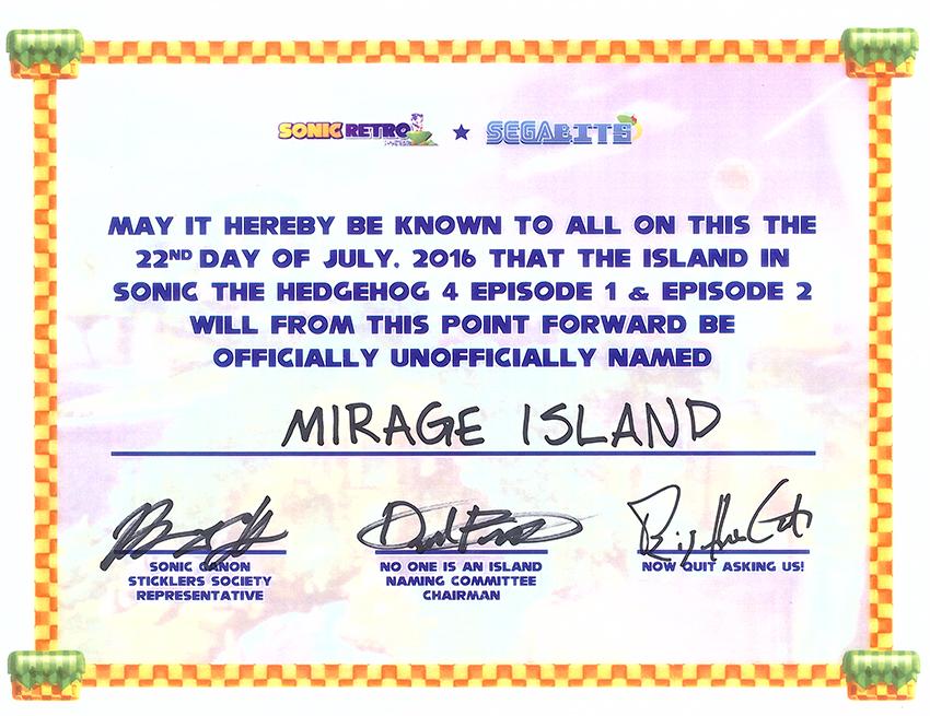 Sonic 4 Island