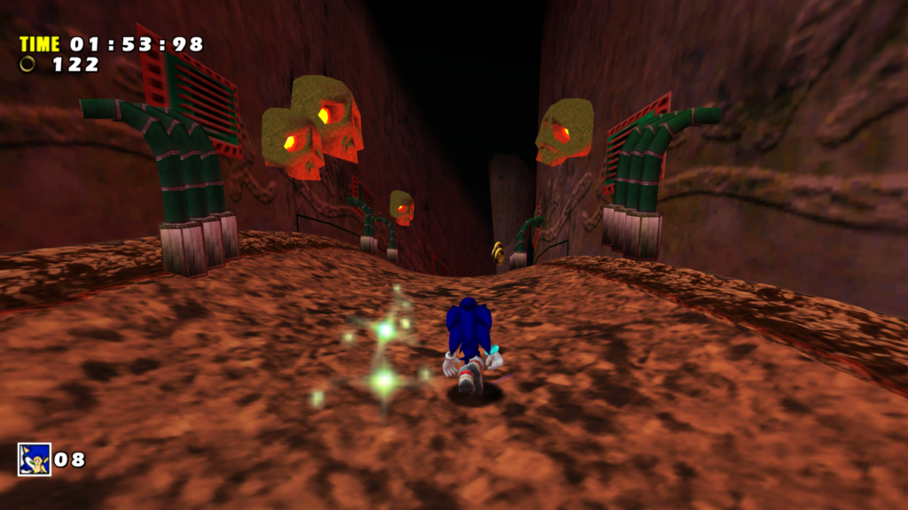 Morph's Lighting Mod for Sonic Adventure DX Restores