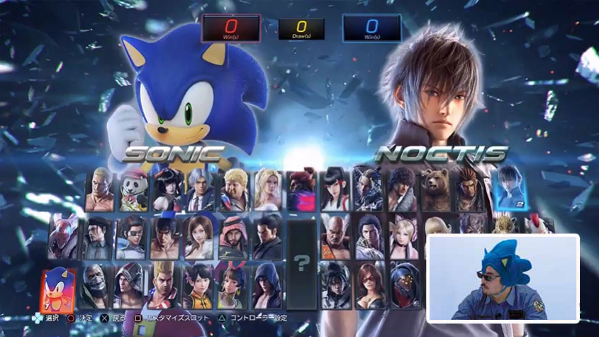 Sonic Forces His Way Into Tekken 7 Sonic Retro